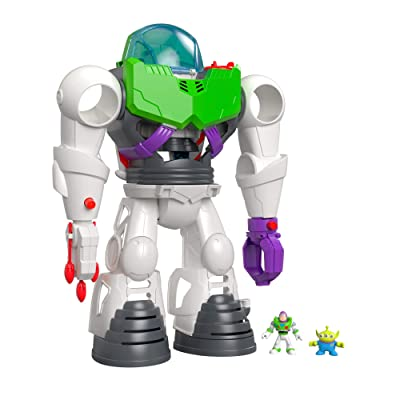 Fisher-Price Imaginext Toy Story 4 Buzz Lightyear Robot: Toys & Games
