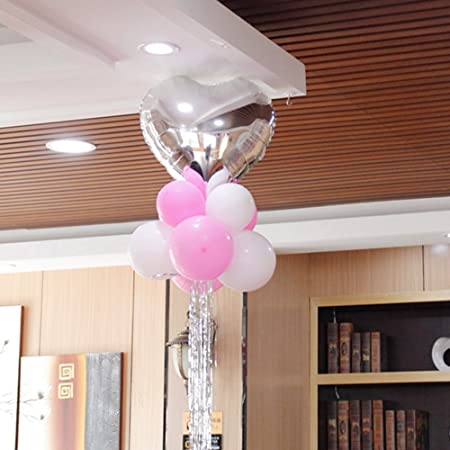 Globos de fiesta cumpleaños decoraciones amor corazón forma ...