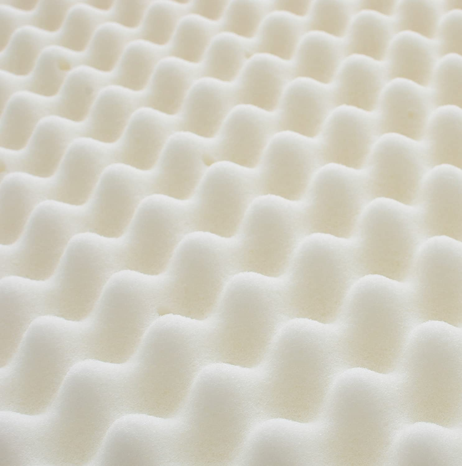 mattress texture. Amazon.com: Milliard 2-Inch Egg Crate Ventilated Memory Foam Mattress Topper, Full: Home \u0026 Kitchen Texture