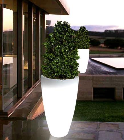 point-garden Blumentopf Blumenkübel Pflanzkübel beleuchtet ...