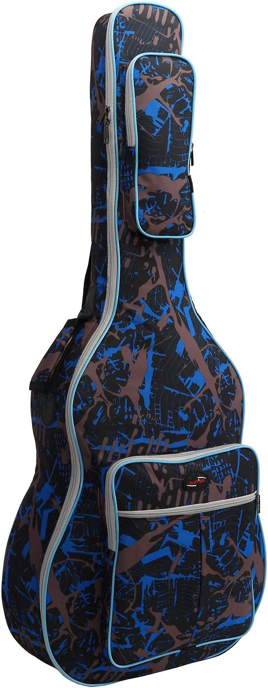 Tebery - Funda para Guitarra acústica, Resistente al Agua (40 ...