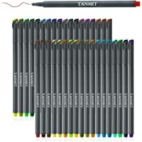Tanmit Fineliner Bullet Journal 36 Color Pens Set