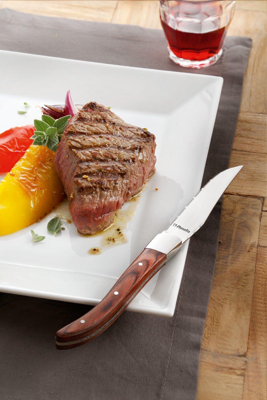 Amefa Royal Steak 252000WP00K35 - Juego de Cuchillos de ...
