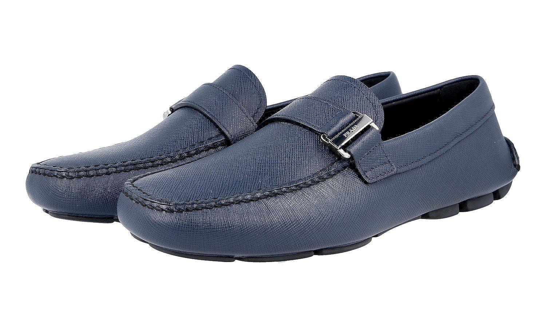 Prada 2DD113 053 F0216 - Mocasines para Hombre, Color Azul, Talla 37 EU: Amazon.es: Zapatos y complementos