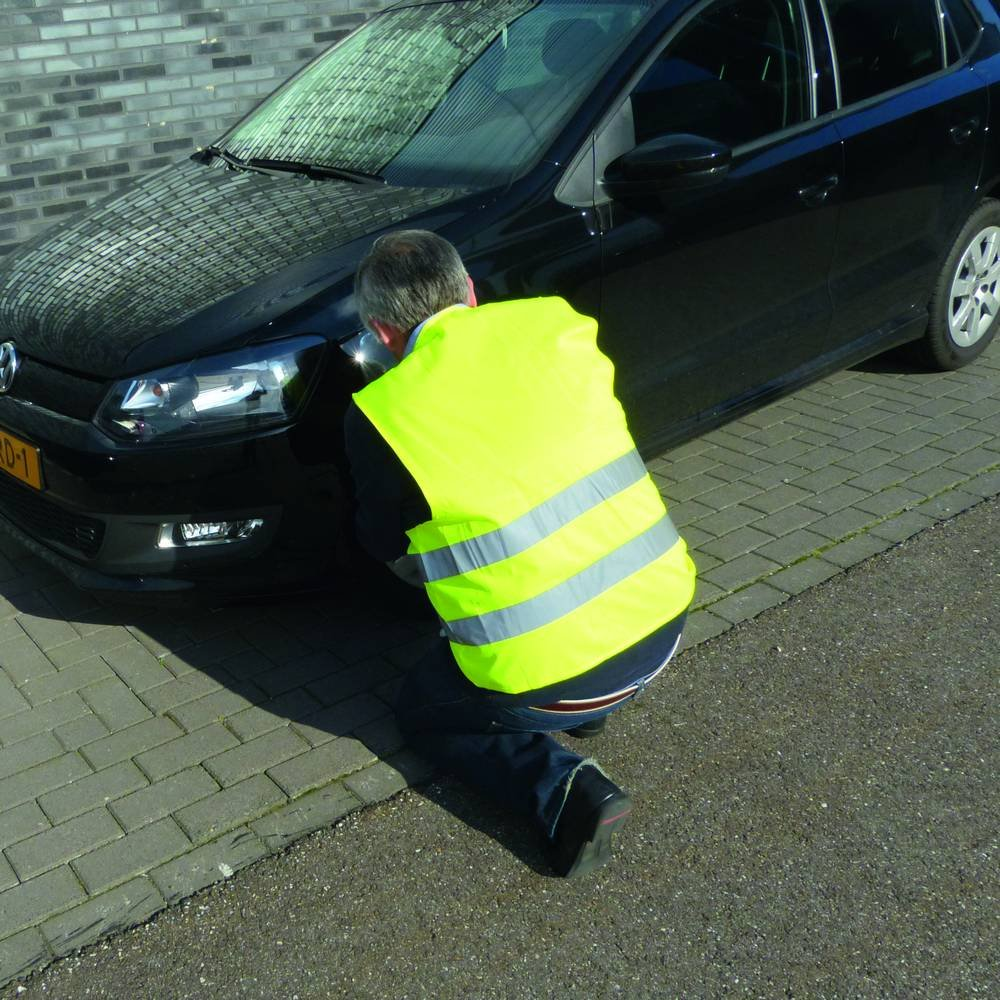 gelb CG Car Professional 0114011 Warnweste Gr/ö/ße XL