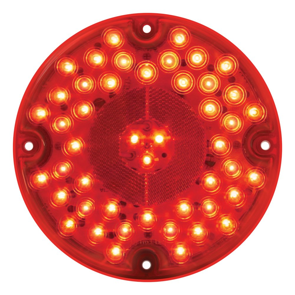 Grand General 82332 Red 7'' 47-LED Sealed Stop/Turn/Tail Light by GG Grand General