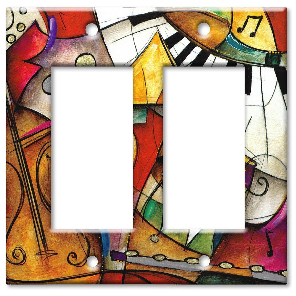 Trple Rocker Switch Plate Art Plates RRR526