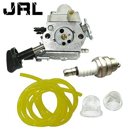 JRL C1M-S261B Zama carburador con bujía de tubo de ...