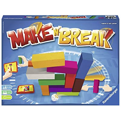 Ravensburger Make 'N' Break for Ages 8 & Up - Build & Destroy Family Action Game: Toys & Games