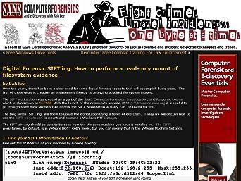 Amazon com: SANS Computer Forensics, Investigation, and