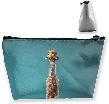 Giraffe;  teachers phone bag work makeup mini walkercrutches wallet; receipt organizer; quick travel tote; quick gift bag
