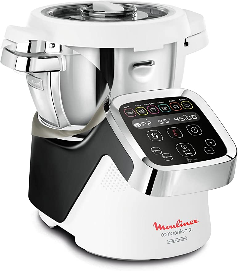 Moulinex HF806E10 - Robot olla multifunción con instrucciones y ...