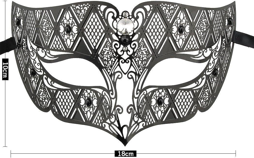 Crown Laser Cut Metal Women/'s Masquerade Mask Mardi Gras Mask Rose Gold