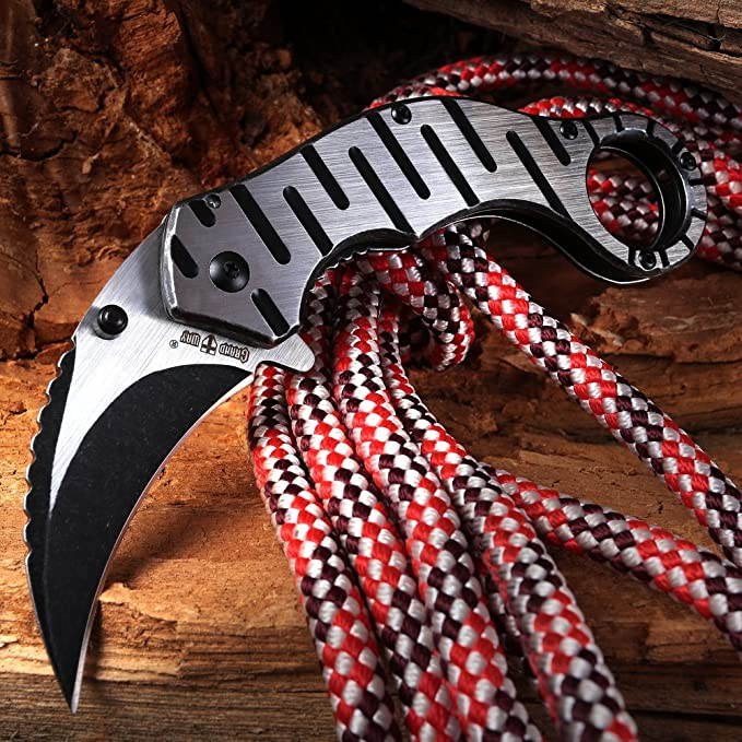 Amazon.com: Cuchillo de Karambit plegable Grand Way – mejor ...