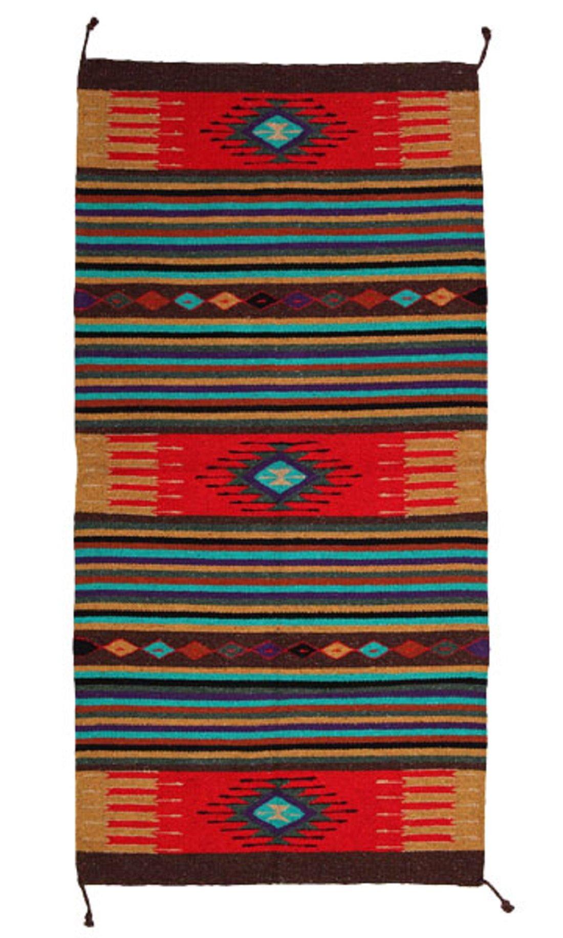 Handwoven Azteca Rug 4'x6' by Azteca