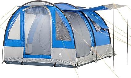 CampFeuer Campingzelt für 4 Personen | Großes Familienzelt