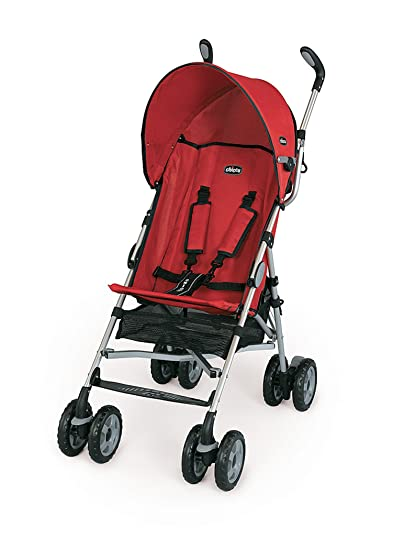 Amazon.com: Chicco ct0.6 Capri ligero carriola, color rojo ...
