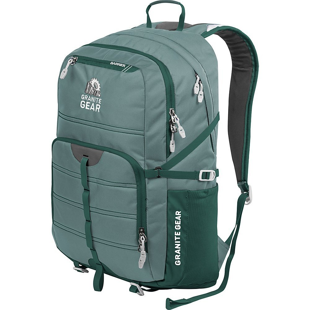 Granite Gear Campus Boundary Backpack Circolo//Black//Chromium One Size 1000001-0008