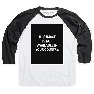 shotdeadinthehead image not available baseballshirt herren wei schwarz s