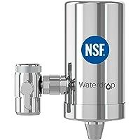 Waterdrop WD-FC-06 NSF Gecertificeerde Roestvrijstalen Kraanwaterfilter, Koolstofblokwaterfiltratiesysteem…