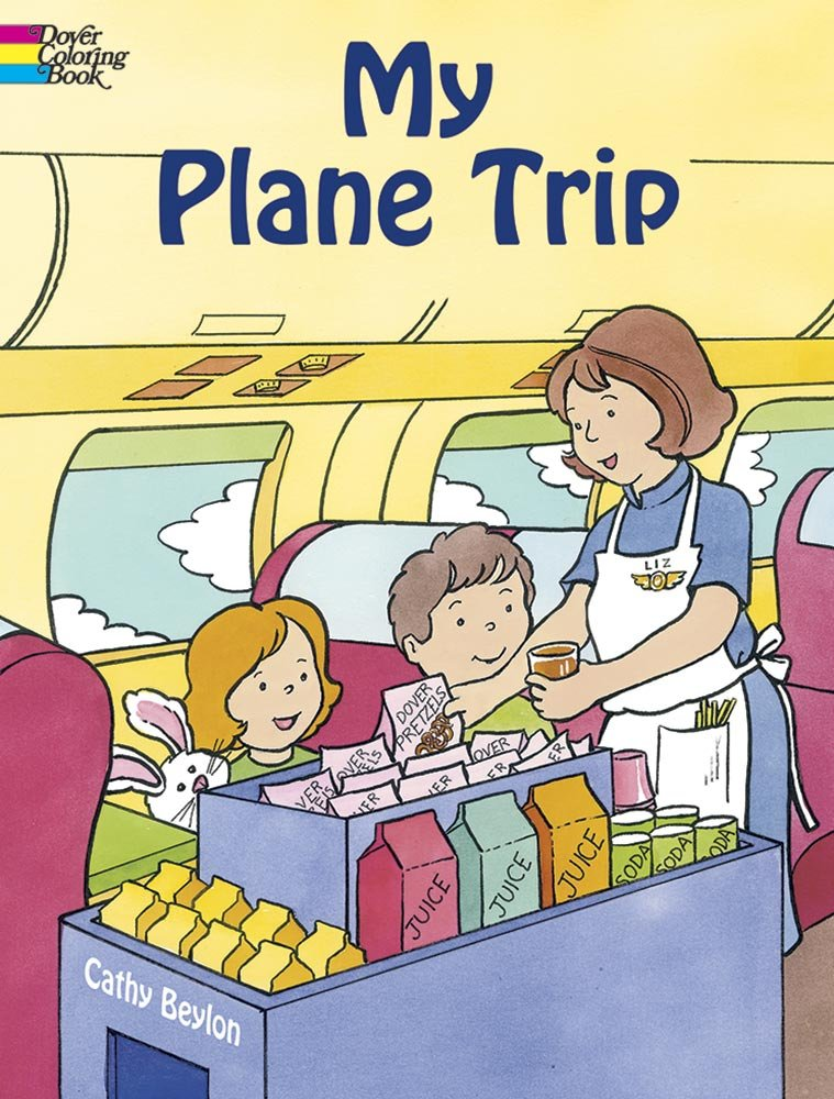 Image for My Plane Trip (Dover Coloring Books)