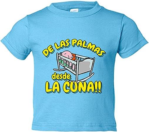 Camiseta niño de Las Palmas desde la cuna Gran Canaria fútbol - Amarillo, 3-4 años: Amazon.es: Bebé