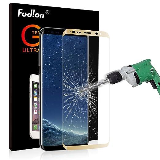13 opinioni per [2 PACK] Galaxy S8 Pellicola Protettiva Fodlon® Pellicola Protettiva Vetro
