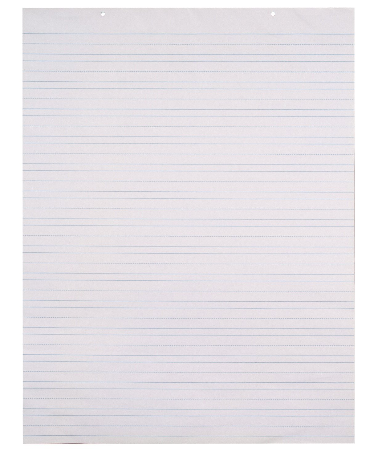 School Smart Chart Paper Pad, 24 x 32 Inches, Ruled 1-1/2 Inch, White, 70 Sheets