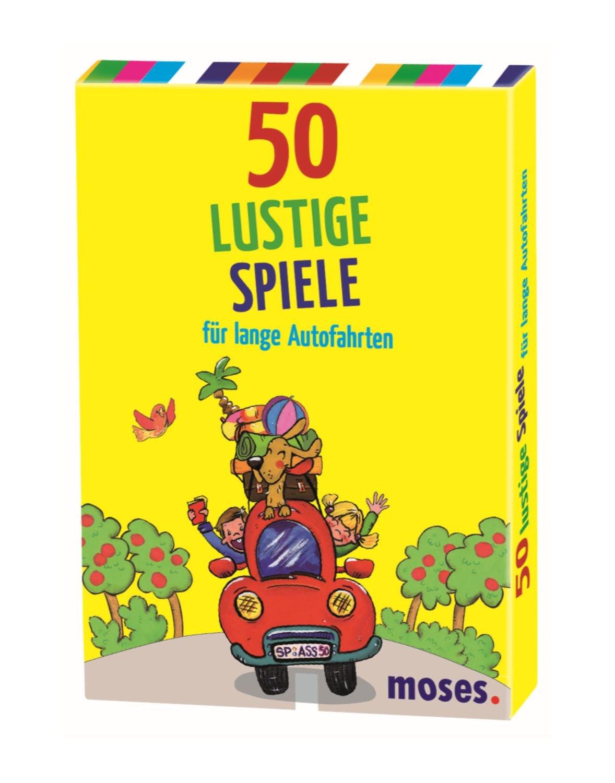 50 Lustige Spiele Für Lange Autofahrten Amazoncouk Nicola Berger
