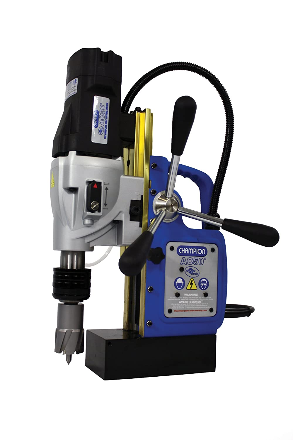 Champion Cutting Tool RotoBrute MightiBrute AC50 Portable Magnetic Drill Press