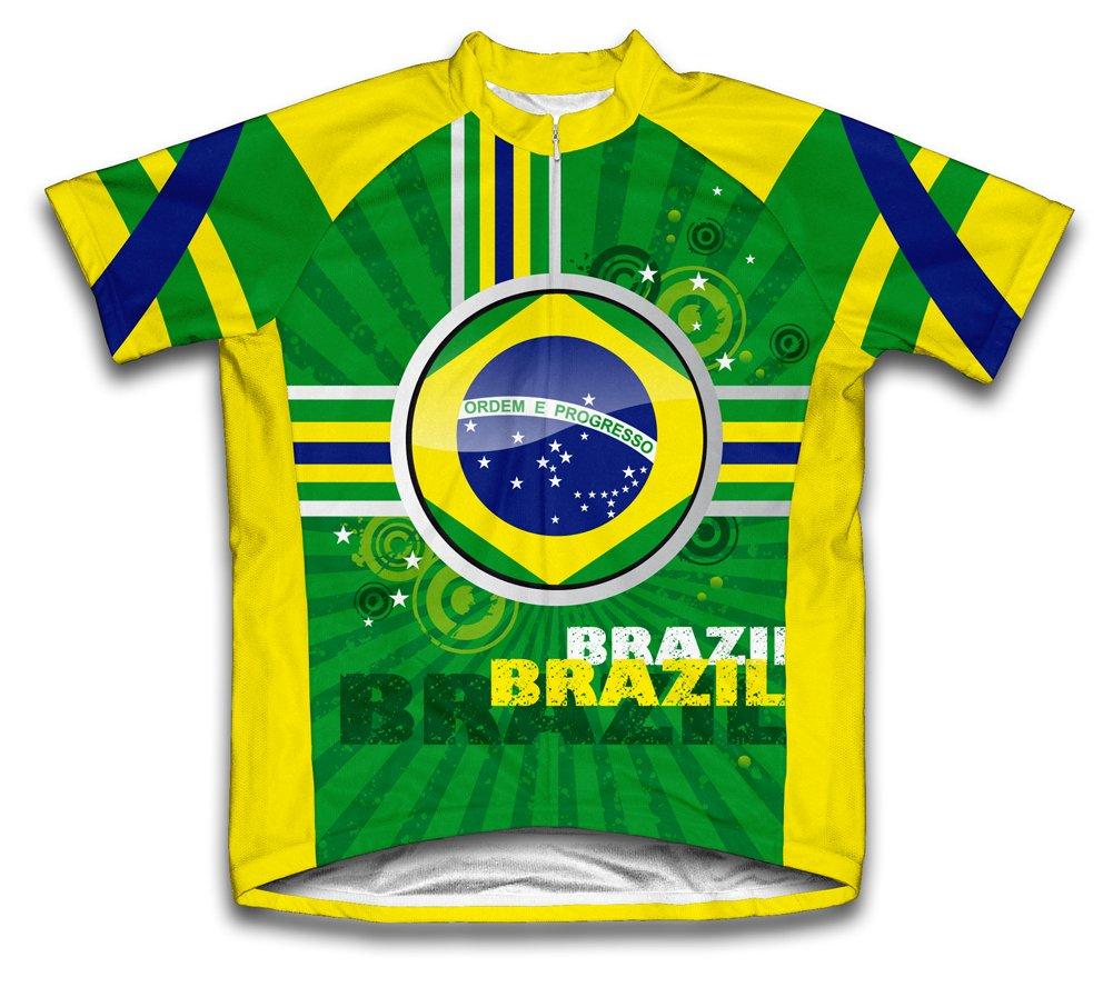 ブラジルショートスリーブサイクリングジャージーforユース X-Small  B005NHRHVA