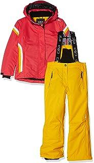 Mädchen Skiset Gr 164 rot kariert Winter Skijacke Skihose Amei Jr Set