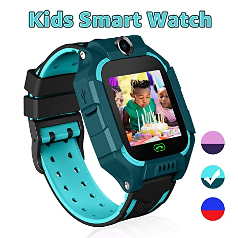 YENISEY Kid Smart Watches with Games,Waterproof Children Smartwatch Phone SOS Anti-Lost Voice Chat Camera Alarm Clock Quick Dial Flashlight for 3-4 ...