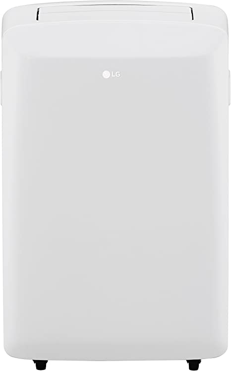 LG LP0817WSR 115V Portable Air Conditioner with Remote Control in White for Rooms upto 150-Sq. Ft.