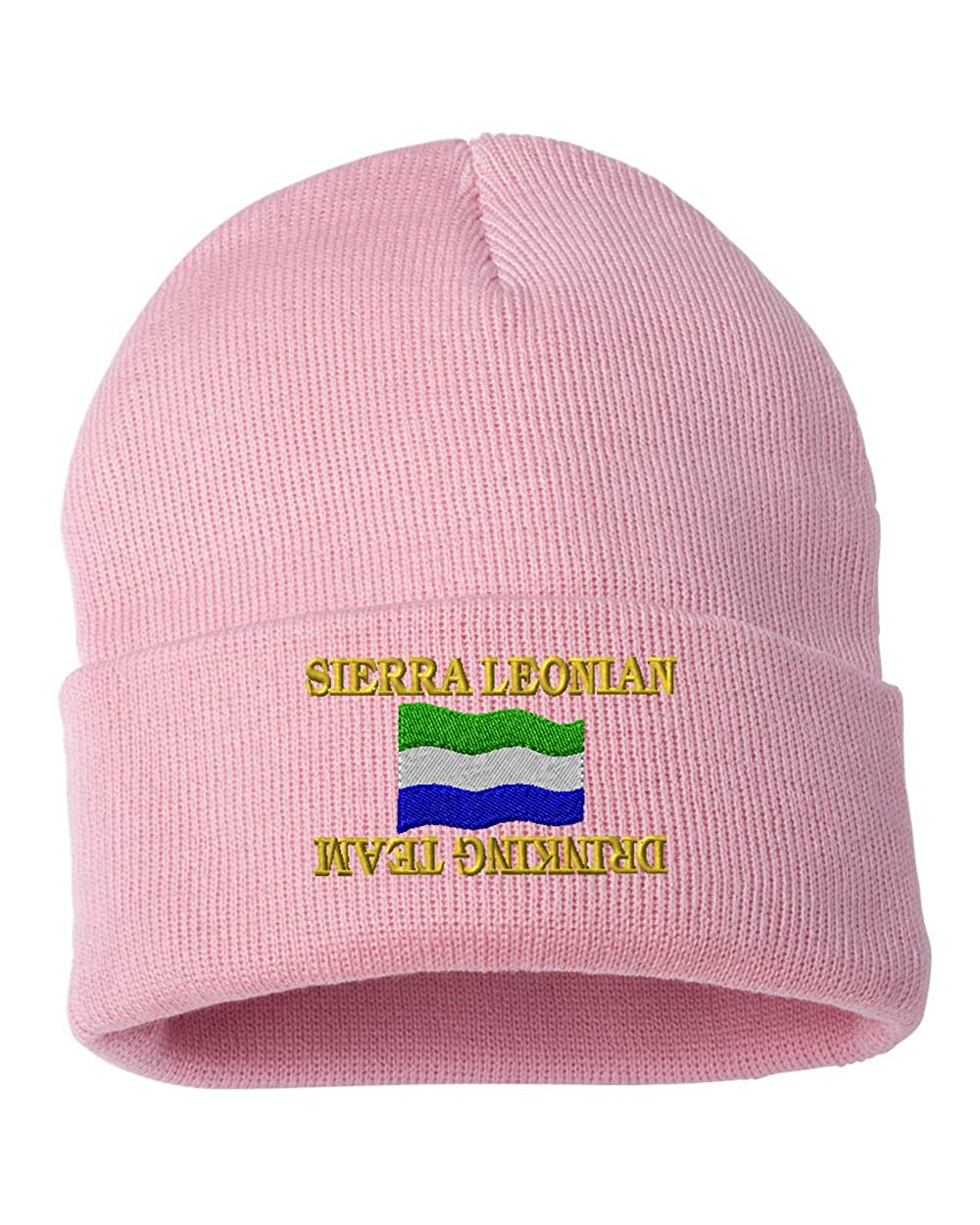 Sierra Leonian drinking team Custom Personalized Embroidery Embroidered Beanie