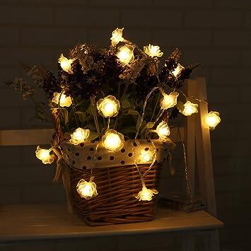 Outdoor Lighting Lighting Strings 2.2m 20 Led Bright Battery Led String Ball Lights Lamp Christmas Party Festival Decoration Fairy String Lamp Hot Sale