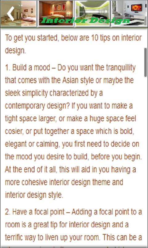 Dise o de interiores appstore para android for Diseno de interiores app