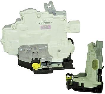 D2P Para Seat Leon 1.6 LPG/TDI lateral trasero derecho cerradura de la puerta con central Lock 1p0839016: Amazon.es: Coche y moto