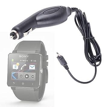 DURAGADGET Cargador De Coche Para Reloj Inteligente Sony ...