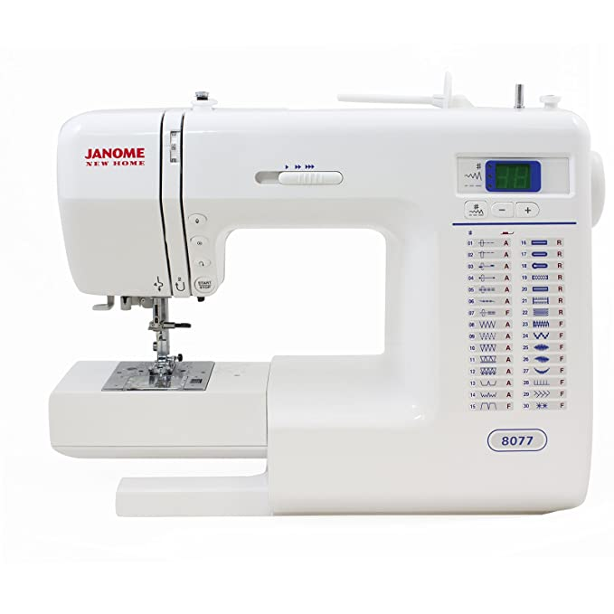 Amazon Janome 40 Computerized Sewing Machine With 40 BuiltIn Enchanting New Sewing Machine