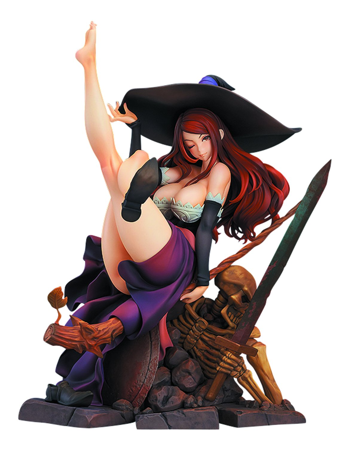 Max Factory Dragon's Crown: Sorceress PVC Figure (1:7 Scale)