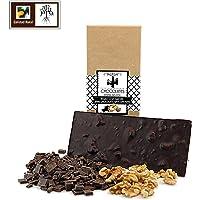 Chocolate negro artesano con nueces