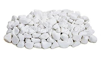 20 kg Galets de marbre Blanc 20-40 mm Idéal pour les jardins ...