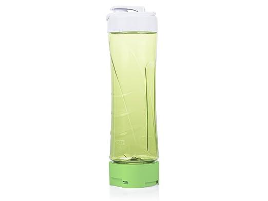 Tristar BL-4446 Batidora de Vaso con Jarra de Vidrio y Botella para Llevar, 250 W, Verde, Blanco: Amazon.es: Hogar