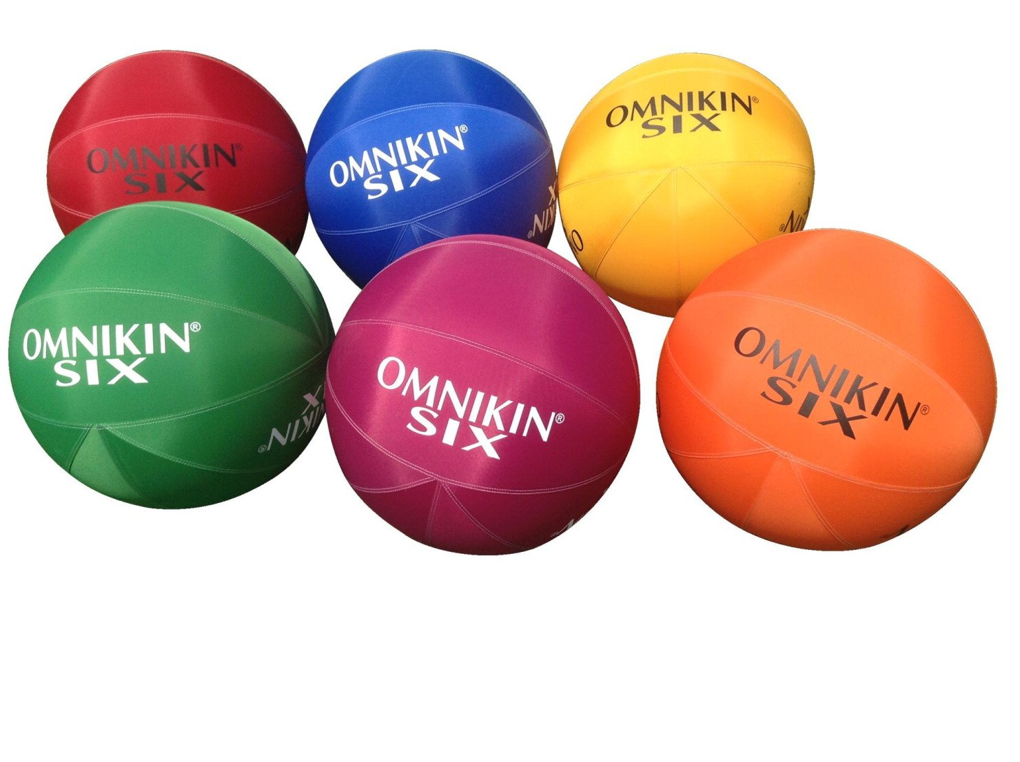 OMNIKIN 18 in SIX balls, Set of 6 by OMNIKIN