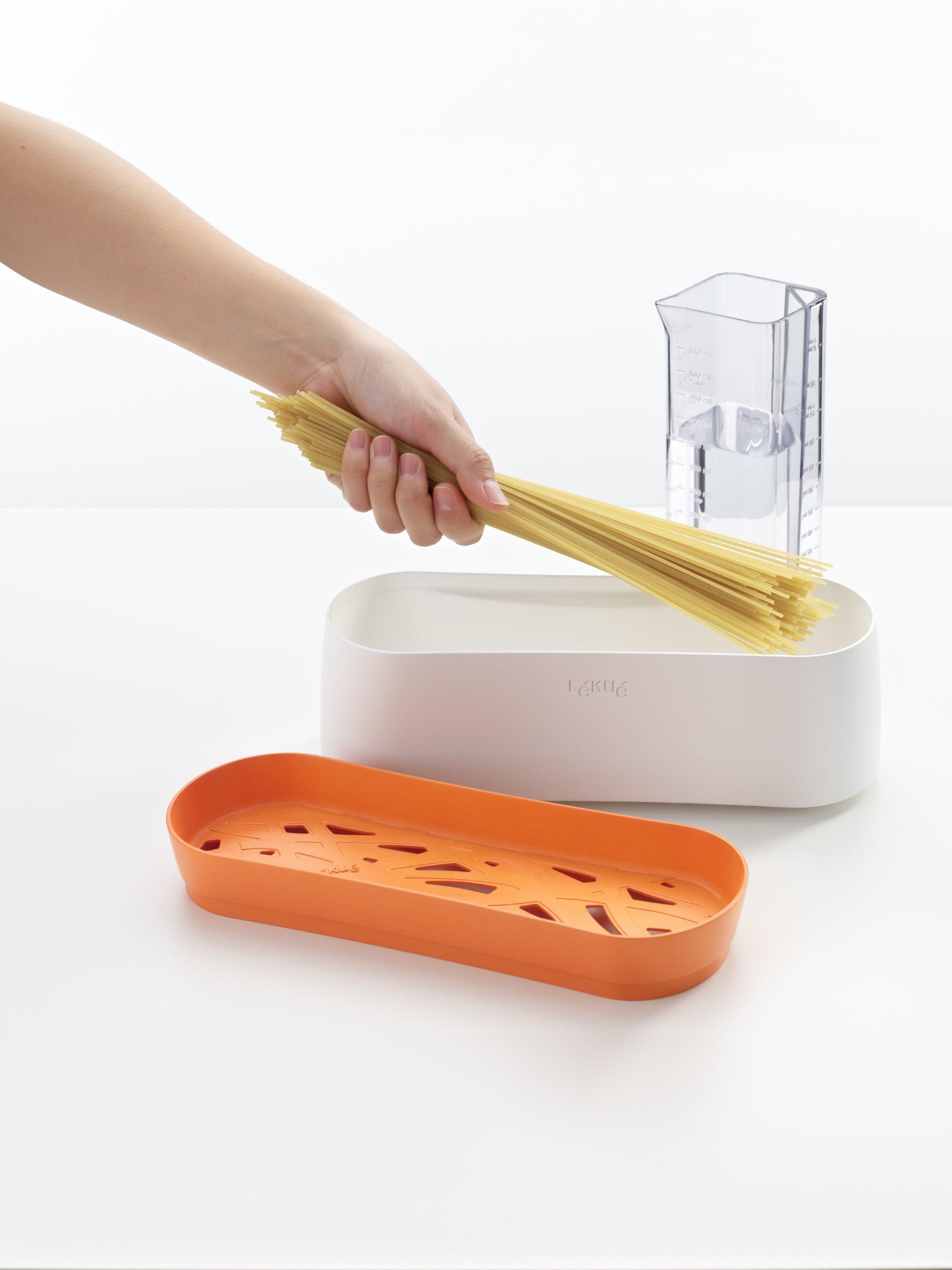 Lekue Pasta Cooker, Model # 0200702N07M017, Orange by Lekue (Image #2)