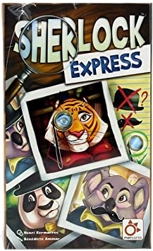 Mercurio Sherlock Express - Juego de Mesa [Castellano]: Amazon.es ...