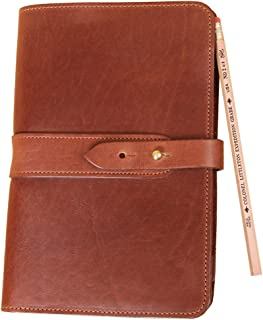 product image for Travel Size Leather Portfolio No. 20 - Brown | USA Made | Col. Littleton