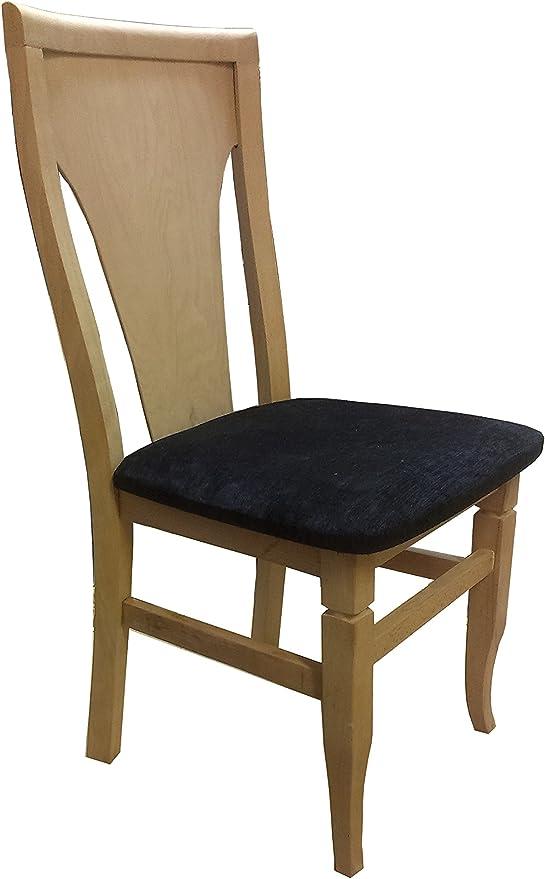 Sedie In Legno Prezzi.Pj 2 X Elegante Sedia Da Sala Da Pranzo In Legno Massiccio Di