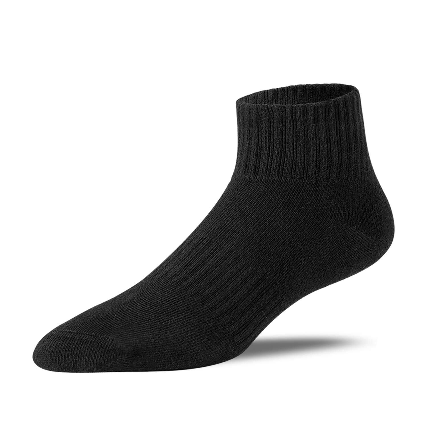 POSHDIVAH Cotton Ankle socks For Men Athletic Running Socks 6 Pack